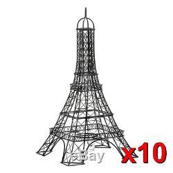 10 bulk chic Black French Paris Eiffel tower wedding Candle Holder NEW