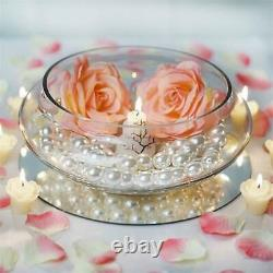 10 pcs 10 wide GLASS Candle Holder BOWLS for Wedding Party Centerpieces SALE