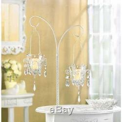 12 Hanging Chandelier Votive Candle Holder Stand Wedding Centerpieces New34693