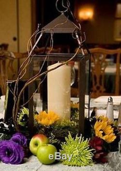 12 bulk lot Malta rustic bronze Garden Candle Lantern holder wedding centerpiece