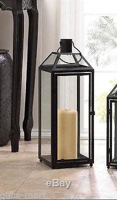15 Large Black 21 Tall Malta Candle holder Lantern wedding table centerpiece