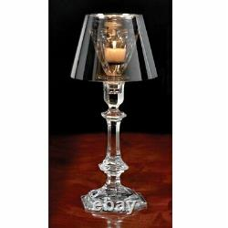 $1k+ Baccarat Harcourt Our Fire Candlestick Holder Votive Philippe Starck Silver
