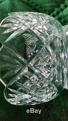2 STUNNING BOHEMIAN CRYSTAL MANTLE LUSTERS with 20 PRISMS