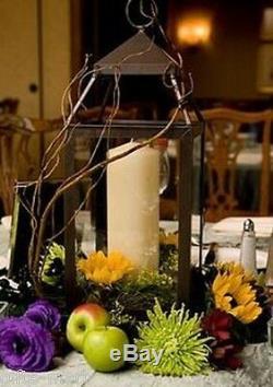6 bulk bronze 12 Malta modern Candle Lantern holder wedding table centerpiece
