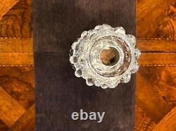 Antique French Baccarat Crystal Candelabra