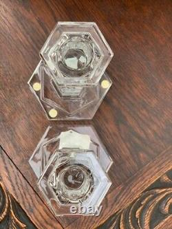 Baccarat Crystal Abysse Candlesticks (Pair)