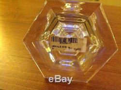 Baccarat Crystal Vestale Candlesticks A Pair Perfect