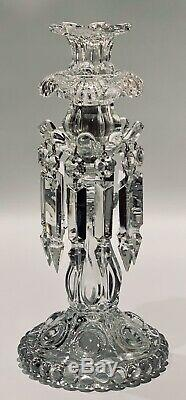 Baccarat Crystal antique Medaillon Candlesticks Set of TWO MINT CONDITION
