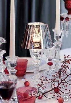 Baccarat / Starck Harcourt Our Fire Candleholder Silver Orig $1220
