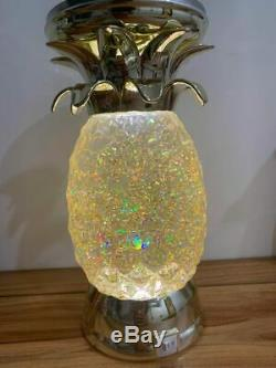 Bath & Body Works Pineapple Water Globe Candle Holder Brand New Without Box