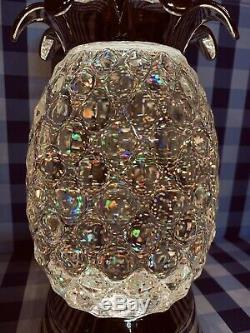 Bath & Body Works Pineapple Water Globe Candle Holder Limited Ed. Lights Up New