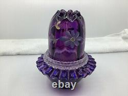 Fenton Historical Collection 1998 Royal Purple 3 Pc Fairy Light HP LE 1610 N4