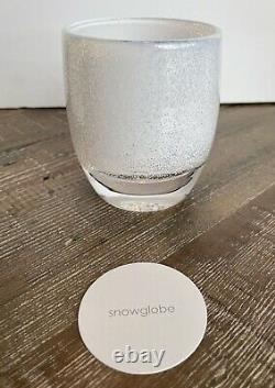 GLASSYBABY- LIMITED SNOWGLOBE Votive Candle Holder- BRAND NEW RARE