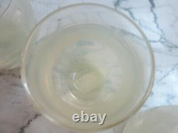Glassybaby-Handblown Votive Candle Holder (Set of 3) Faith New Cond Retired