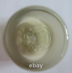 Glassybaby Hide and Seek Votive Candle Holder witho sticker HTF pre-triskelion