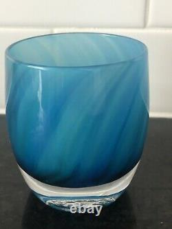 Glassybaby Home Run Votive Candle Holder 2018 Mariners Limited Edition