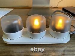 Glassybaby Ocean Candle Holder & Evie Tea Lights