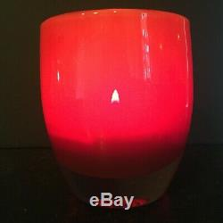 Glassybaby Rare RED DELICIOUS Votive Candle Holder RETIRED
