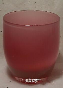 Glassybaby SMOOCH #0170 Votive Candle Holder, Preowned