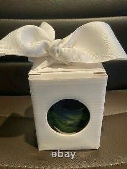 Glassybaby Votive Candle Holder Seahawks Thrive Rare MIB MUST HAVE