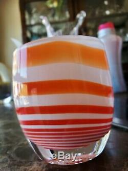 Glassybaby one of a kind Glass Votive Candle Holder