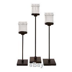 IMAX Home 6998-3 Flamenco Floor Candle Holders Set of 3