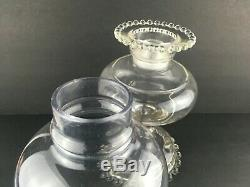 Imperial Candlewick Candle/Oil Lamp style with Original Smooth Top Shade Very Rare