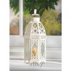 Lot 15 Enchanting 12 White Lantern Candleholder Wedding centerpieces