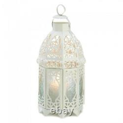 Lot 6 Enchanting 12 Creamy White Lantern Candleholder Wedding centerpieces