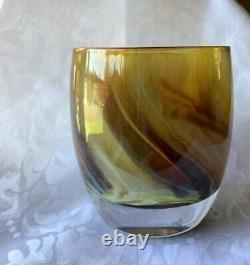 Luckypennyglassybabyglasscandleholdervotiveperfect4mothersdaygift