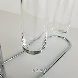Mid Century Candle Holder Rosenthal Aqualux Timo Sarpaneva Glass Floating Vtg
