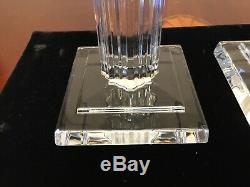 New WATERFORD CRYSTAL Metropolitan Pair of 10 Candlesticks Candle Holders