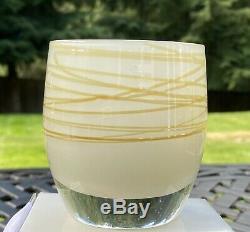 ONE RARE GLASSYBABY- HOLY NIGHT (SEASONAL) Votive Candle Holder- Brand NEW
