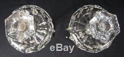 Pair of 16 Heisey Classic Candelabras Candlesticks Candleholders