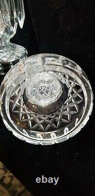 Pair of 2 Waterford Crystal Candlesticks/Candelabra