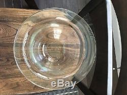 PartyLite Clear Hurricane Glass Replacement Candle Holder Seville
