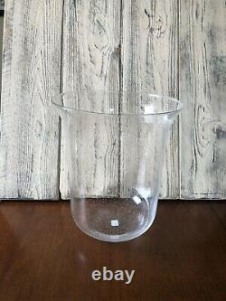 Partylite Seville Replacement Large Glass 3-Wick Candle Holder Hurricane Rare