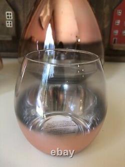 Pottery Barn Candle Holder Monique Lhuillier Rose Gold Christmas Decor Ombre Set