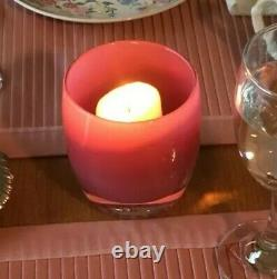 RARE Discontinued glassybaby Evelyn Votive Candle Holder