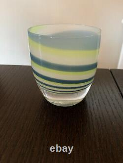 RETIRED Seahawks Grit Glassybaby Votive Candle Holder (Have 2)