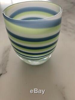 Seahawks Grit Glassybaby Votive Candle Holder