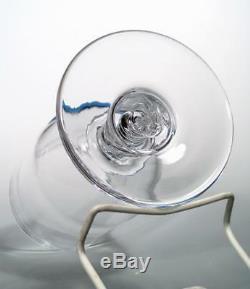 Simon Pearce Studio Art Glass PAIR Retired Stratton Hurricane Candle Holders EXC