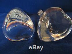 Tiffany & Co Elsa Peretti Bone Glass Candlesticks 1970s Vintage