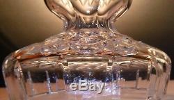 VINTAGE Waterford Crystal C1 (1980-) Candelabra Candlestick Holder 10 In Box