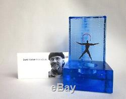 Vintage Kosta Boda by Bertil Vallien Starlight Dancer NIB Votive Candle Holder