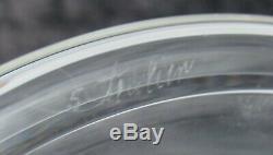 Vintage Mid-century Steuben Teardrop #7746 Crystal Glass 10 1/2 Candlesticks