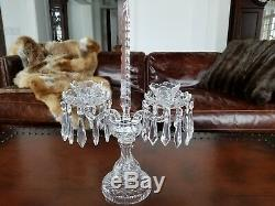 Waterford C2 Candelabra Double Candle Holder #1