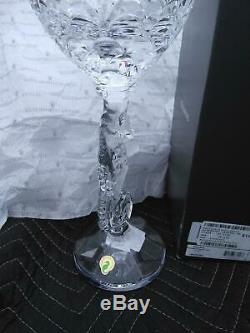 Waterford Crystal 11 1/4 Seahorse Pillar Candlesticks