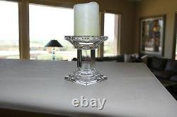 Waterford Crystal Metropolitan Pillar Candle Holder