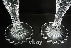 Waterford Crystal Sea Jewel Set 2 Candlesticks 10 Candle Holders
